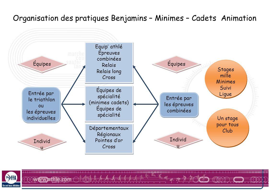 Stages mille Minimes Suivi Ligue Stages mille Minimes Suivi Ligue Equip athlé Épreuves combinées Relais Relais long Cross Équipes de spécialité (minim