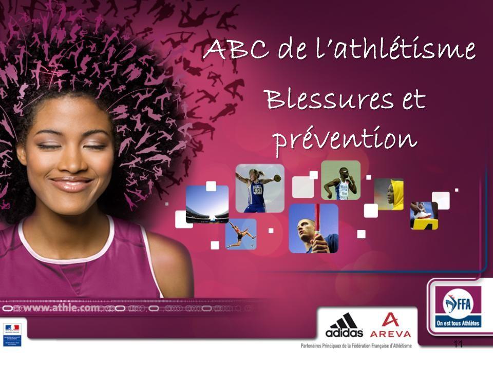ABC de lathlétisme 11 Blessures et prévention