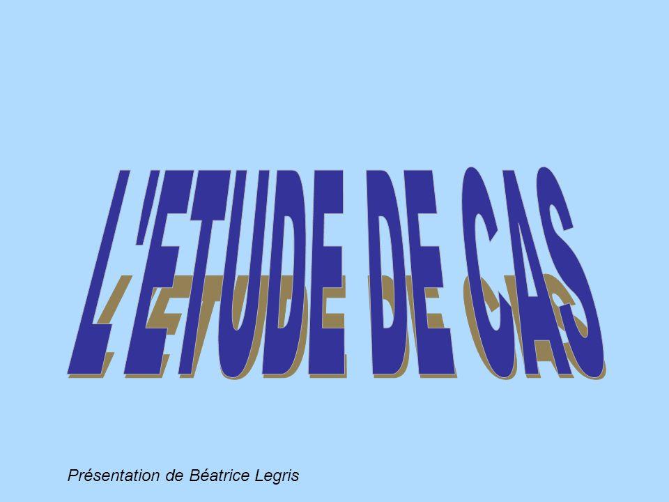 Présentation de Béatrice Legris