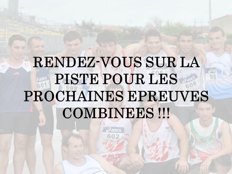 RENDEZ-VOUS SUR LA PISTE POUR LES PROCHAINES EPREUVES COMBINEES !!!