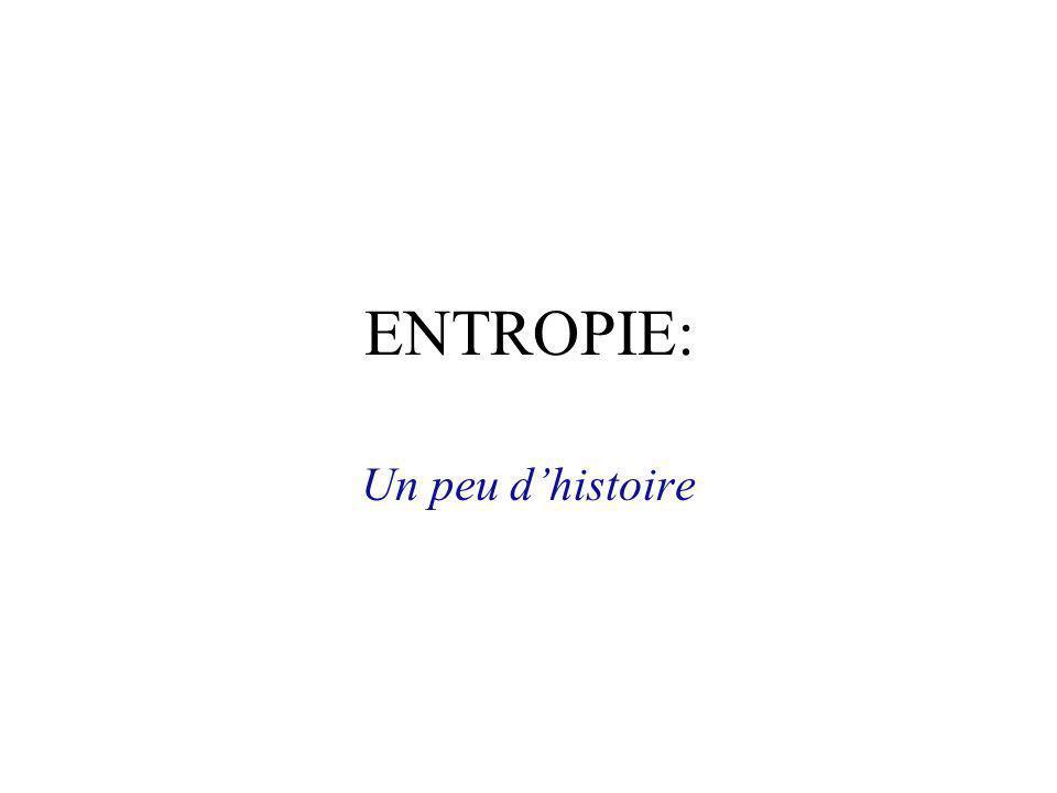 ENTROPIE & INFORMATION Le point de vue du physicien Jean V. Bellissard Georgia Institute of Technology & Institut Universitaire de France