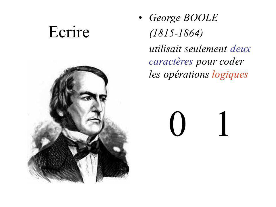 Ecrire Les nombres modernes sont codés à laide de 10 chiffres créés par les Indiens et transmis aux Européens par les Arabes