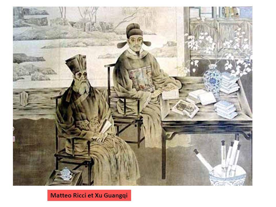 Matteo Ricci et Xu Guangqi