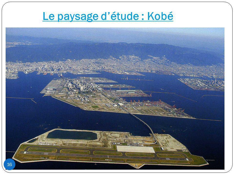 Le paysage détude : Kobé 16