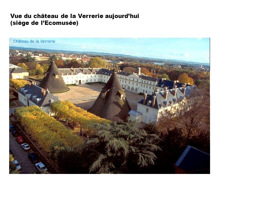 Vue du château de la Verrerie aujourdhui (siège de lEcomusée)