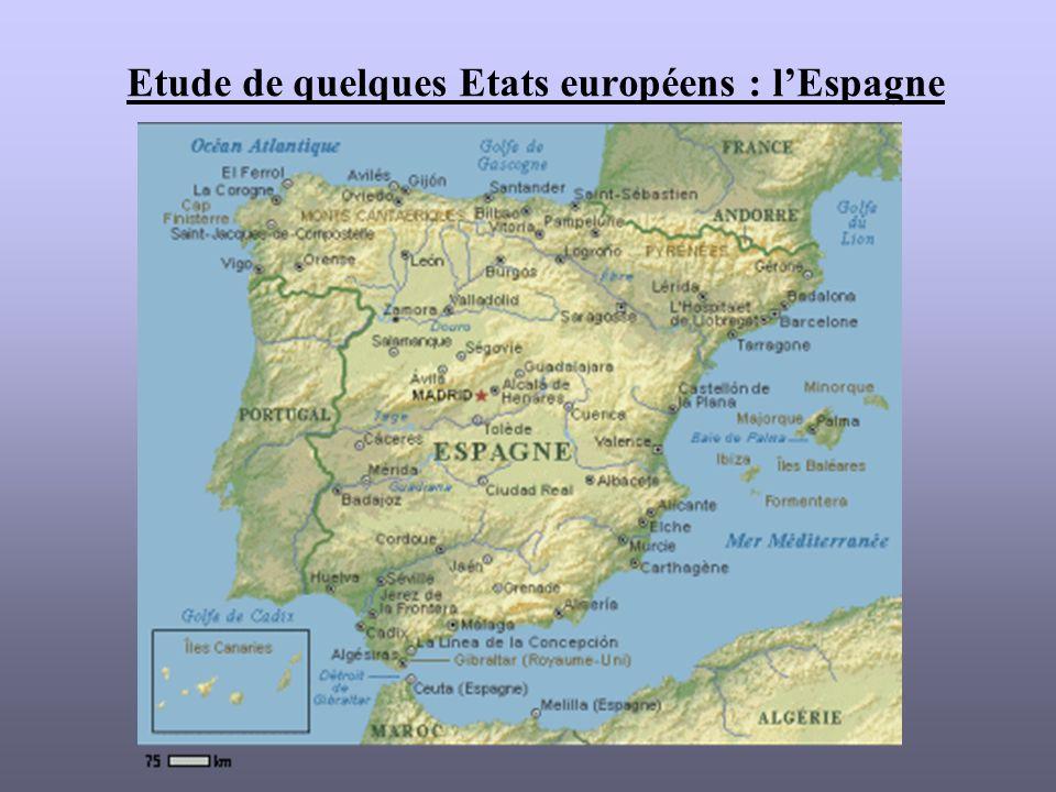 Etude de quelques Etats européens : lEspagne