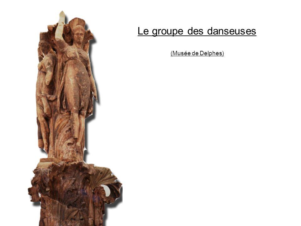Le groupe des danseuses (Musée de Delphes)