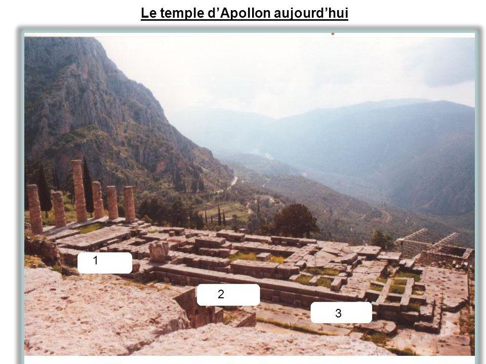 Le temple dApollon aujourdhui 1 2 3