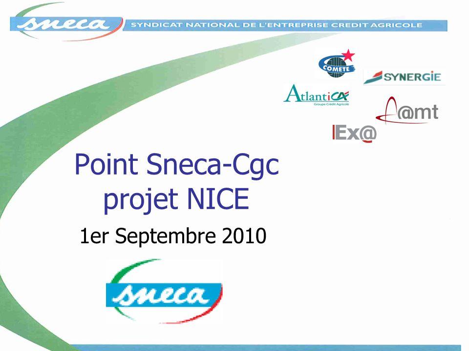 Point Sneca-Cgc projet NICE 1er Septembre 2010