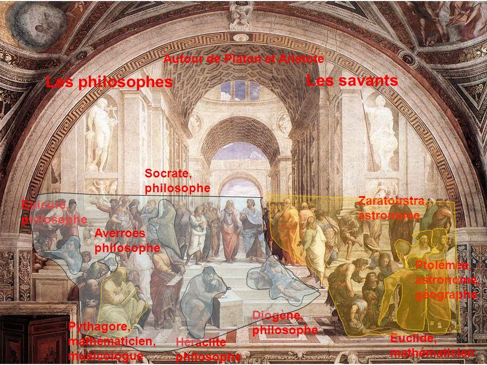 Autour de Platon et Aristote Socrate, philosophe Héraclite philosophe Diogène, philosophe Epicure, philosophe Les philosophes Euclide, mathématicien Z