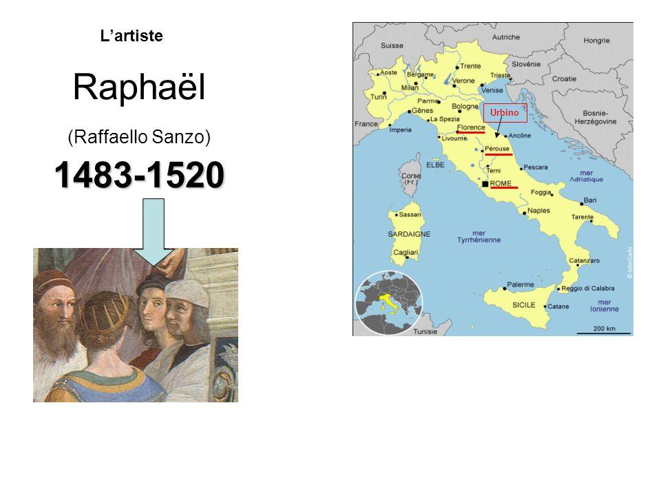 Raphaël (Raffaello Sanzo) 1483-1520 Lartiste Urbino