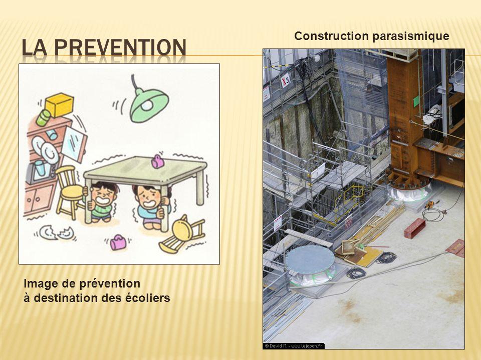 Image de prévention à destination des écoliers Construction parasismique