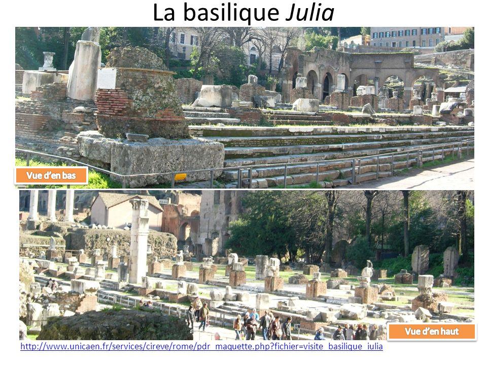 La basilique Julia http://www.unicaen.fr/services/cireve/rome/pdr_maquette.php?fichier=visite_basilique_iulia