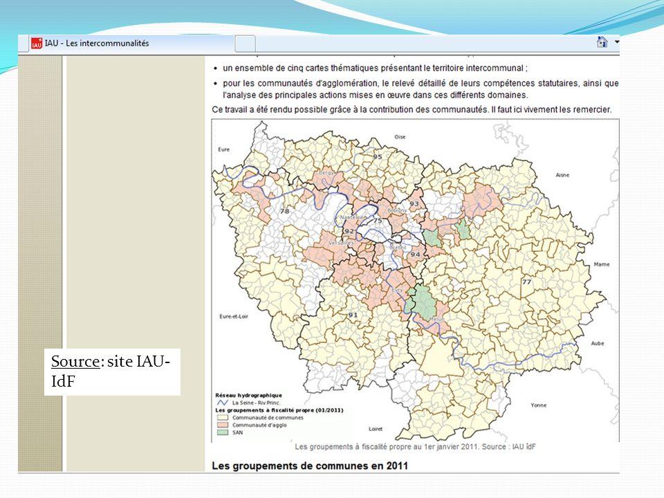 Source: site IAU- IdF