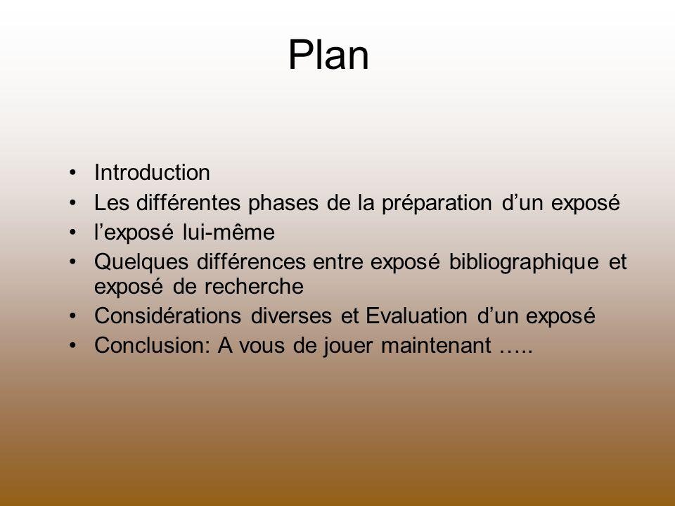 Le cadre général du discours - Lintérêt des questions posées .