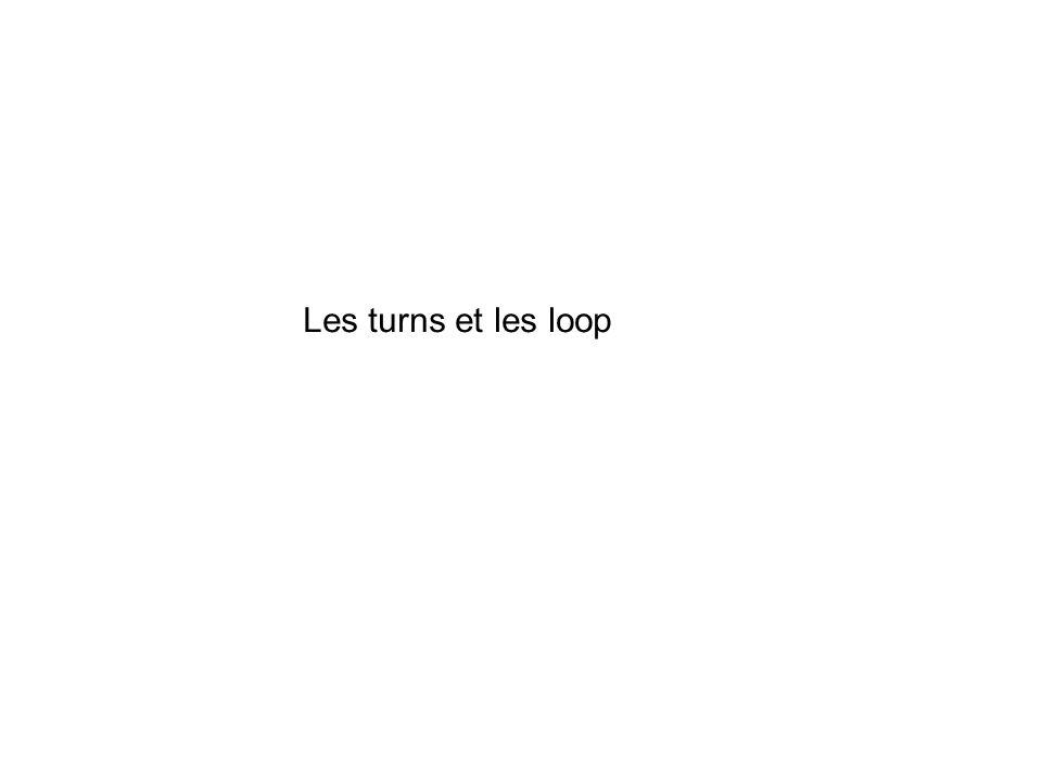Les turns et les loop