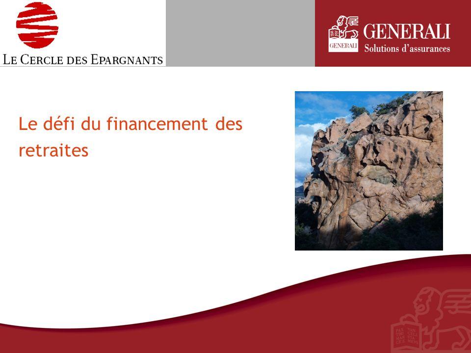 Le défi du financement des retraites