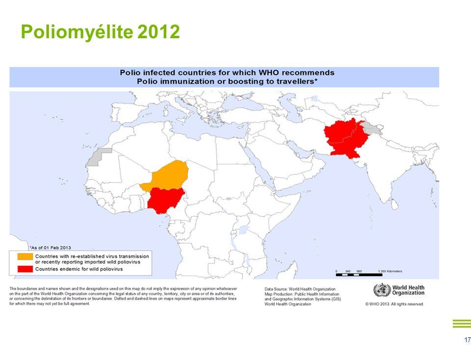 17 Poliomyélite 2012