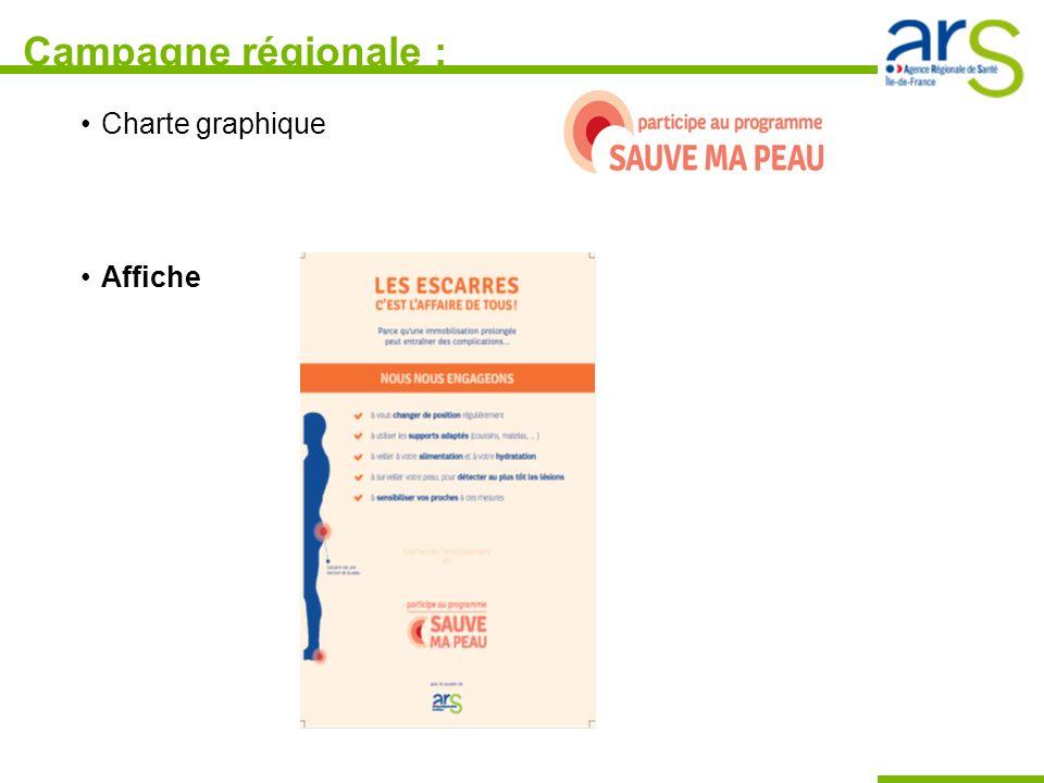 Campagne régionale : Charte graphique Affiche