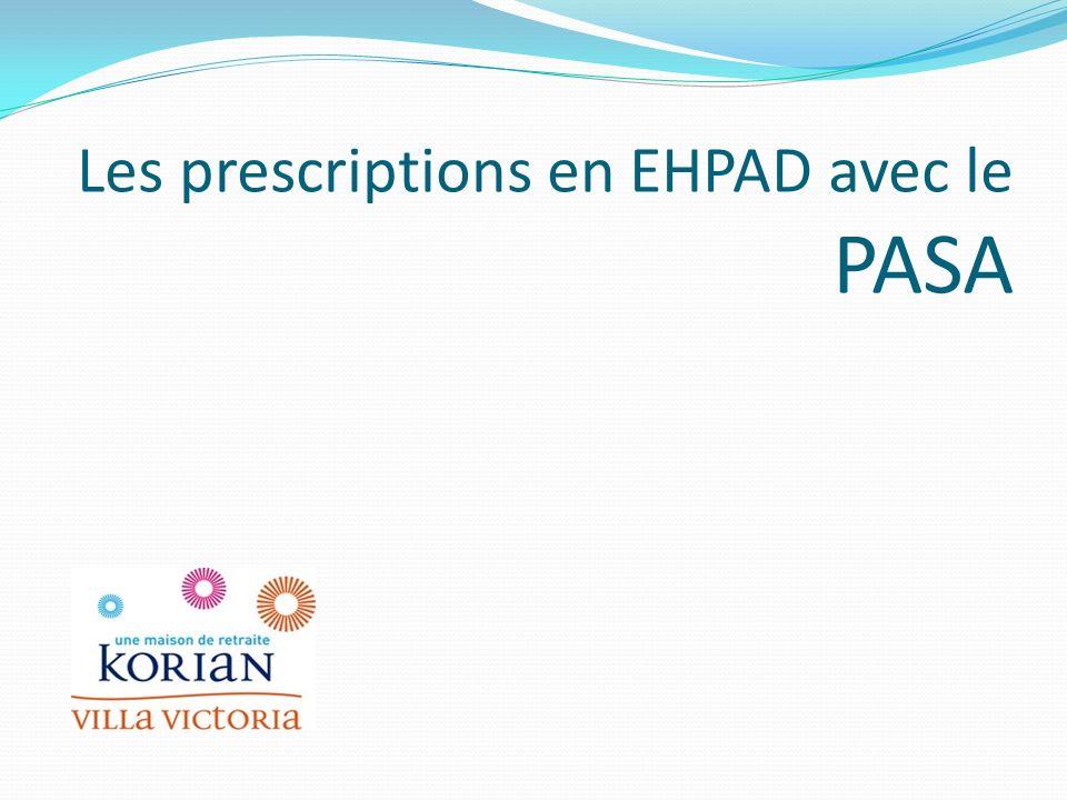 Les psychotropes en Janvier 2012 EHPADPASA Tranquillisant28 % 26,67 % Hypnotique19 %6,67 % Neuroleptique12 %40 % Antidépresseur52 %60 % Anticholineste.26 %46,67 %