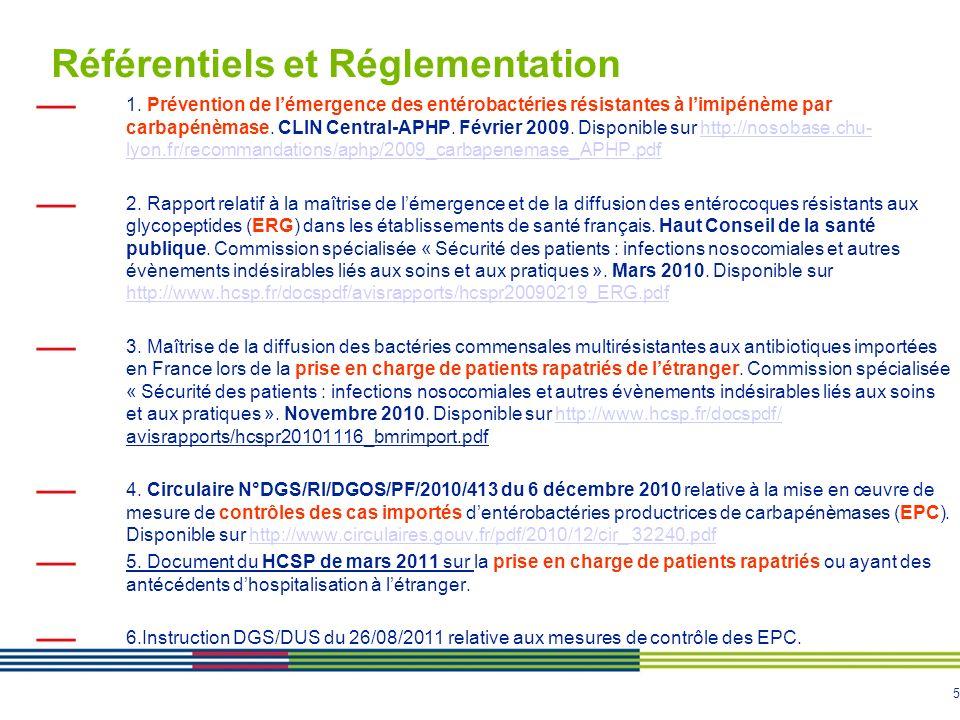 5 Référentiels et Réglementation 1.