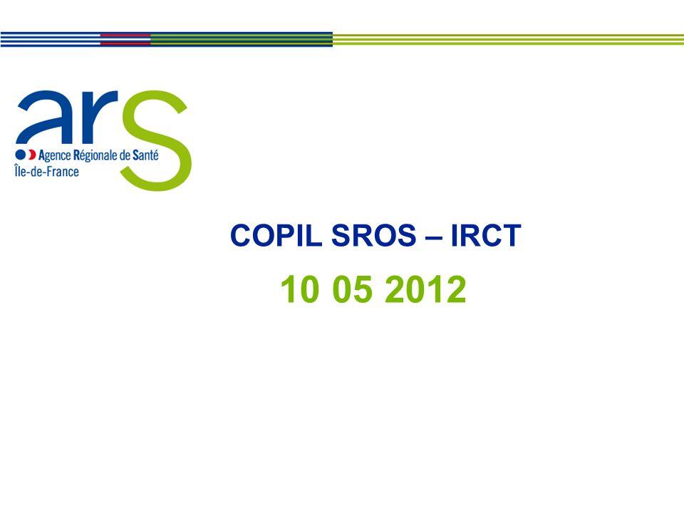 COPIL SROS – IRCT 10 05 2012