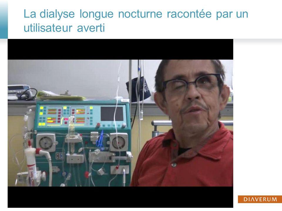 Notre expérience de dialyse longue de nuit nous apporte aujourdhui à tous la conviction que nous contribuons à lamélioration de la qualité de vie de nos patients 26© Diaverum 200808 March 2014
