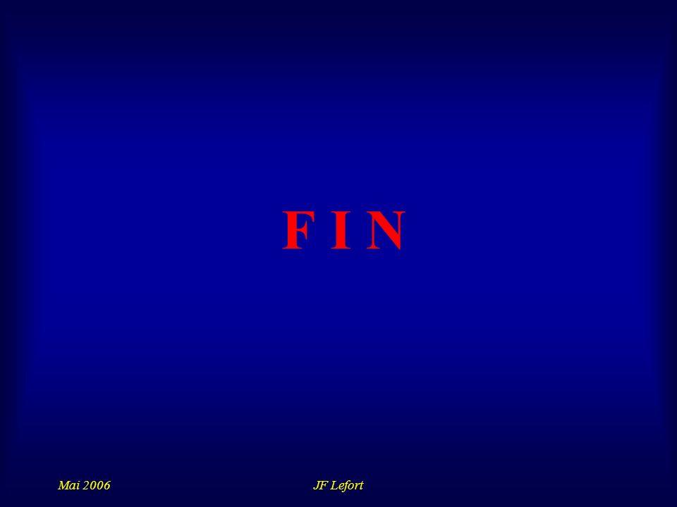 Mai 2006JF Lefort F I N