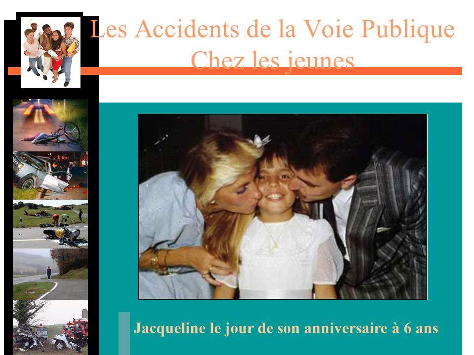 Les Accidents de la Voie Publique Chez les jeunes Jacqueline le jour de son anniversaire à 6 ans