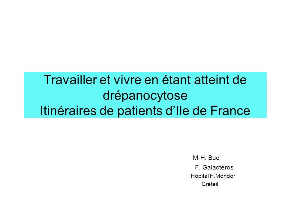 Les participants à lenquête Vingt-neuf patients ont accepté de participer à létude : Dix sont antillais, dix huit sont originaires dAfrique subsaharienne, un patient est dorigine algérienne.