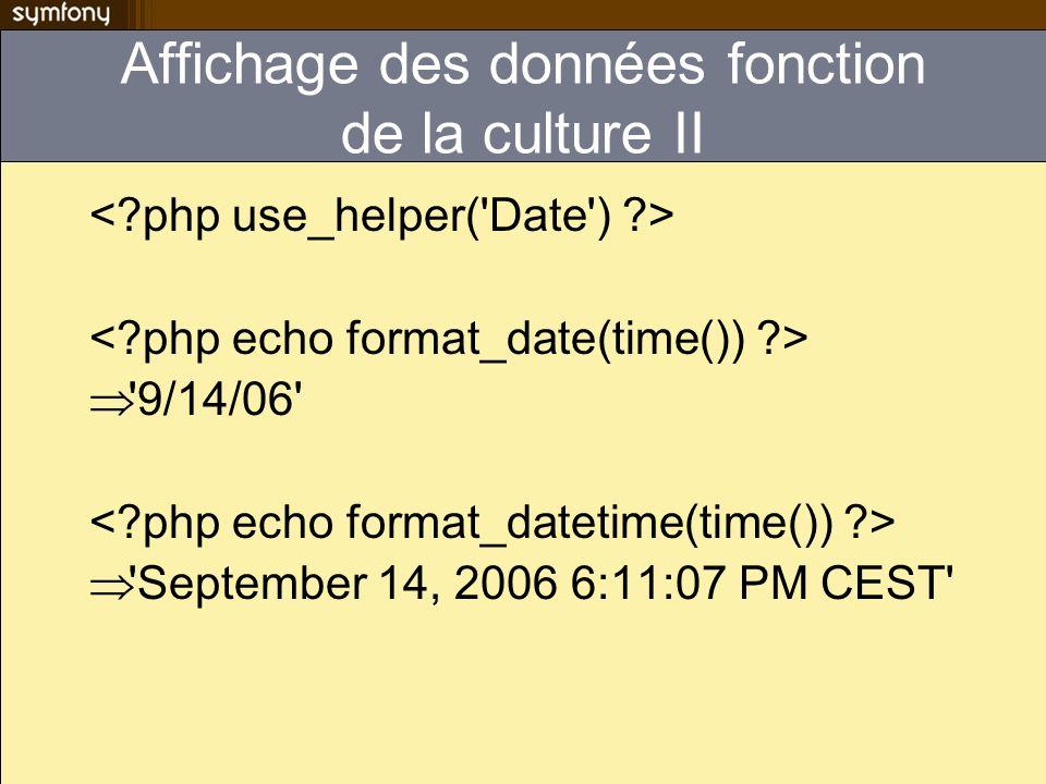 Affichage des données fonction de la culture II '9/14/06' 'September 14, 2006 6:11:07 PM CEST'
