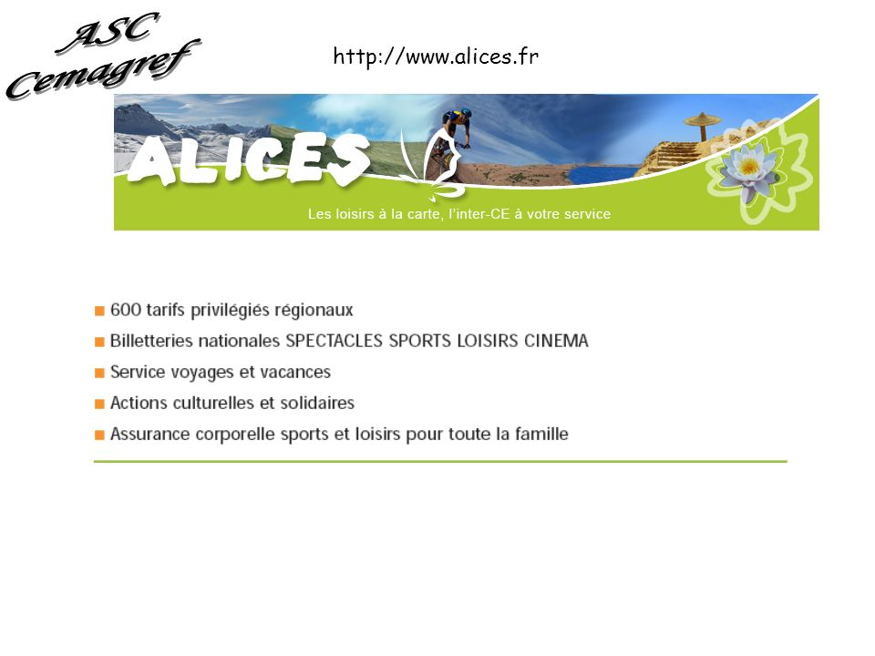 http://www.alices.fr