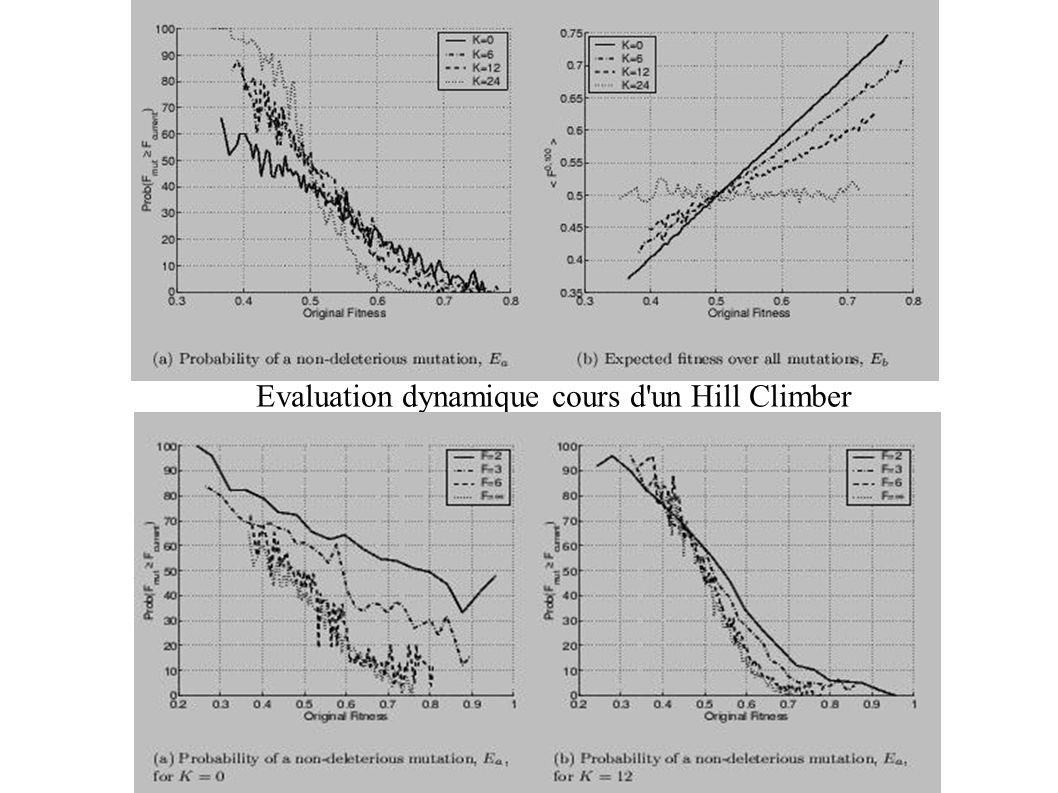 Evaluation dynamique cours d'un Hill Climber