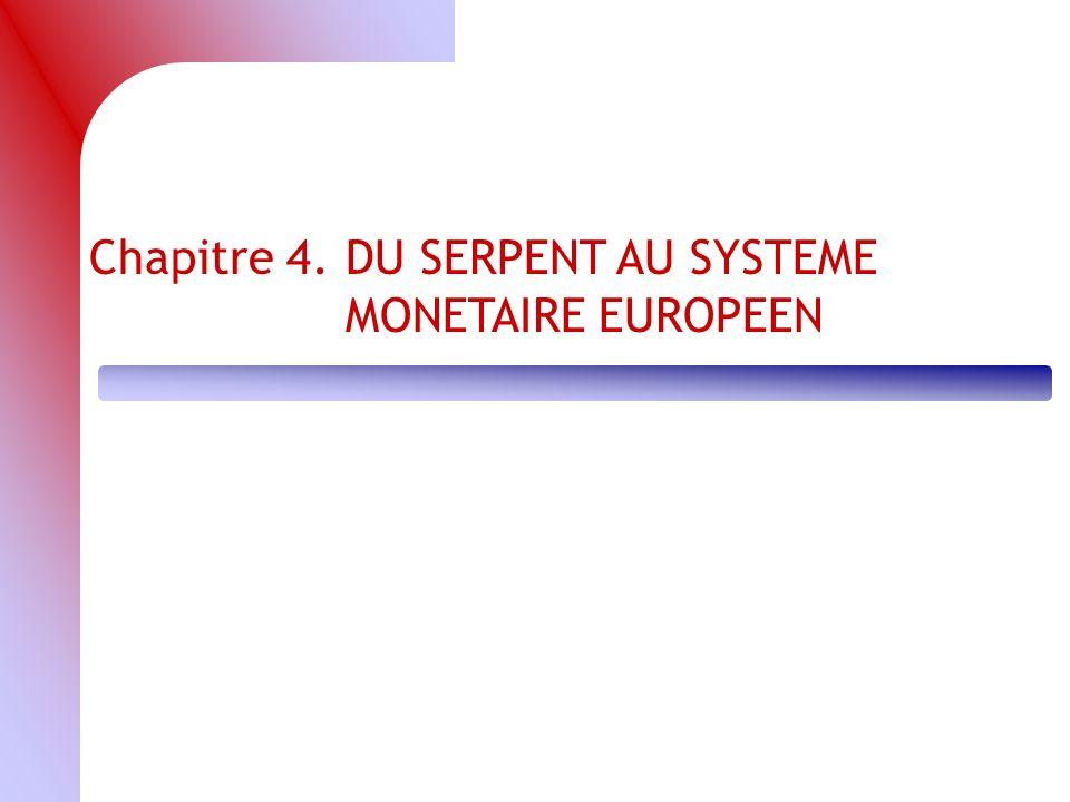 Chapitre 4.DU SERPENT AU SYSTEME MONETAIRE EUROPEEN