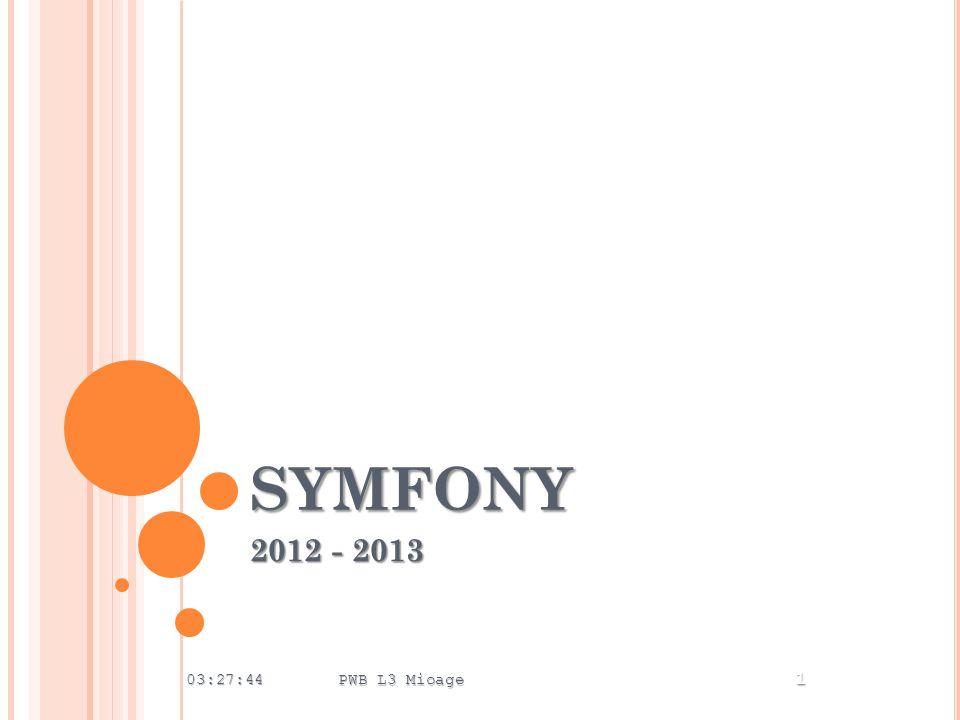 SYMFONY 2012 - 2013 03:29:23 PWB L3 Mioage 1