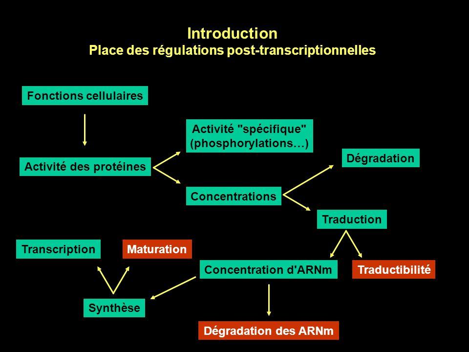 Régulations post-transcriptionnelles de l expression génétique au cours du développement Luc Paillard CNRS UMR 6061 Faculté de médecine Université Rennes 1 http://perso.univ-rennes1.fr/luc.paillard/ensgnmt/odonto080307.ppt