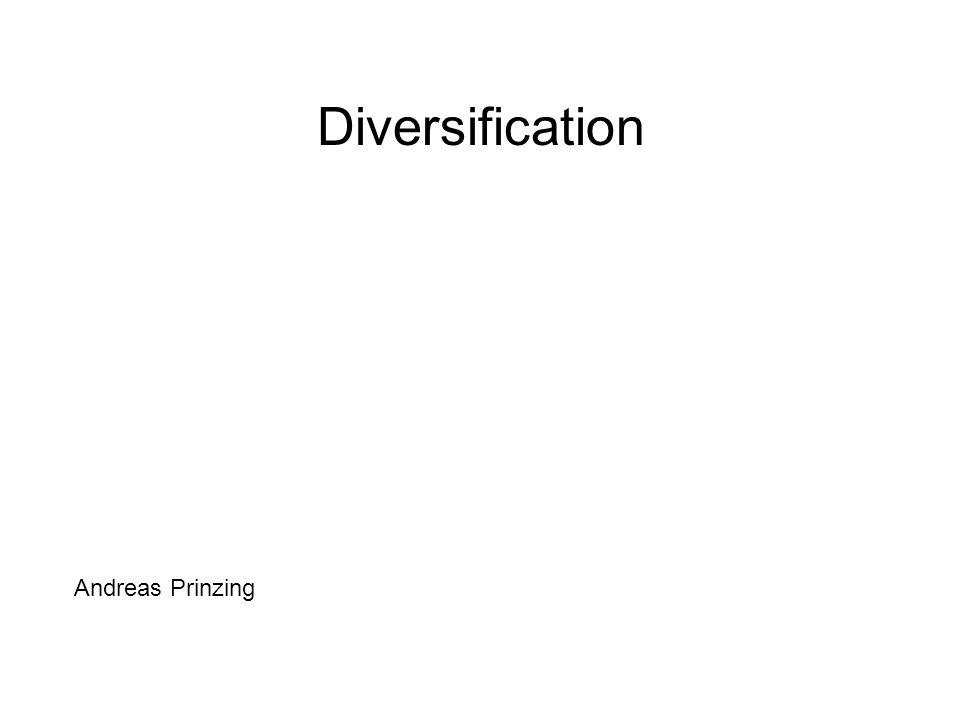 I.Elements de la diversification Variation énorme Etat statique © Ridley 2004 Questions.