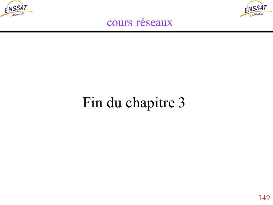 149 cours réseaux Fin du chapitre 3