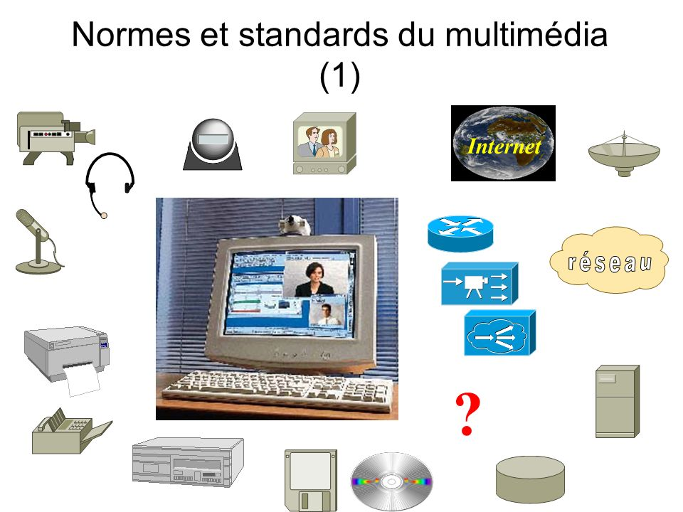 Normes et standards du multimédia (1) Internet ?