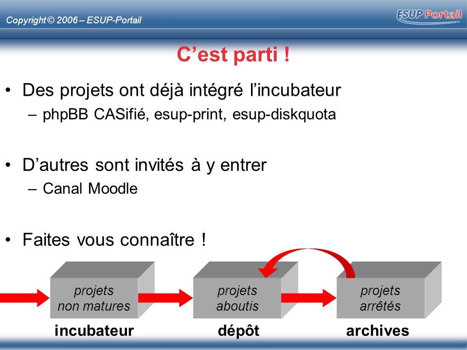 Copyright © 2006 – ESUP-Portail Cest parti .