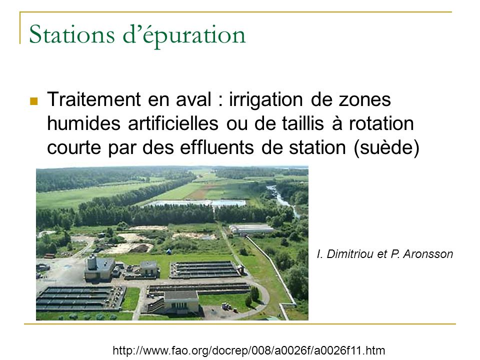Végétalisation de décharges Source : http://www.ecolotree.com