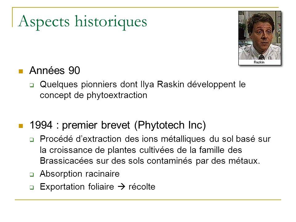 Aspects historiques Phytoremédiation de leau : Construction de zones humides artificielles épuratoires 1901 : 275 ha de zones humides construites à Sa