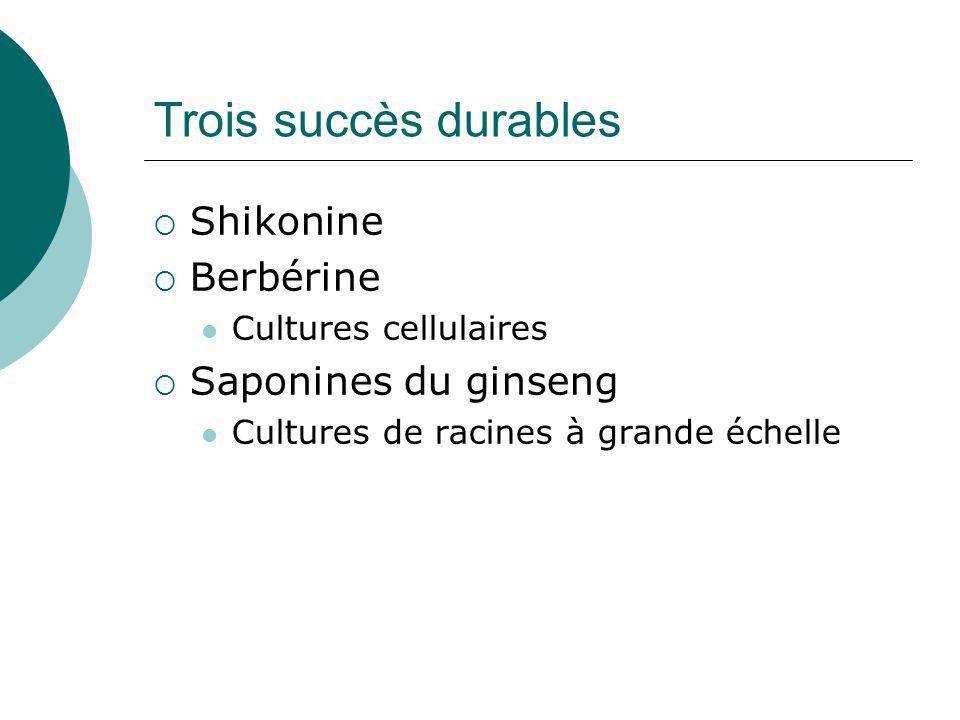 Cultures en bioréacteur de cellules de Lithospermum erythrozhizon www.uni-tuebingen.de/pharmazie/abteilungen/biologie/de/shikonin.html