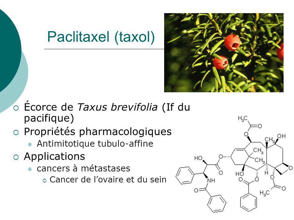 Quelque systèmes de production à létude taxol Vinblastine, Vincristine Elly Lilly & Co Glycosides Concurrence avec la synthèse chimique