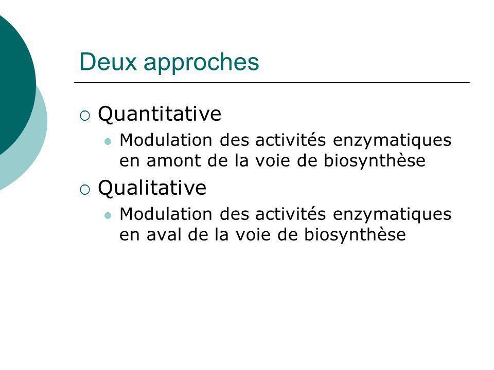 Le menthol : un monoterpène Mahmoud et Croteau (2001) PNAS IPP