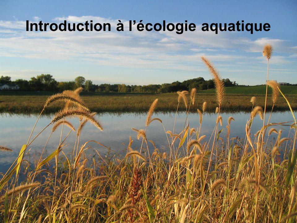 Introduction à lécologie aquatique