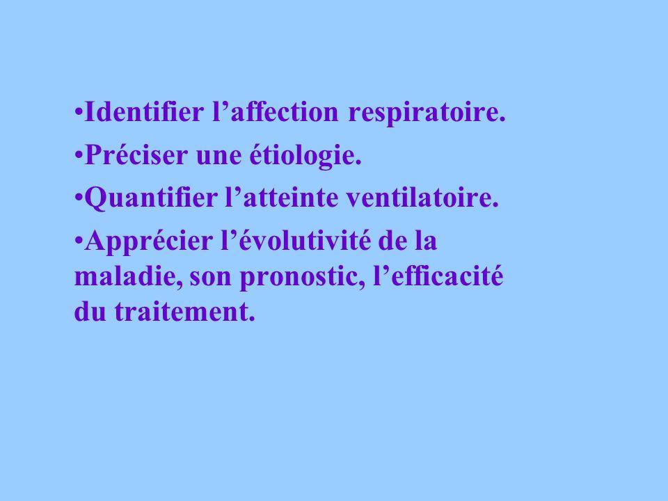 EXPLORATIONS FONCTIONNELLES RESPIRATOIRES BUT: Apprécier la fonction ventilatoire en mesurant: Les volumes pulmonaires Les débits bronchiques