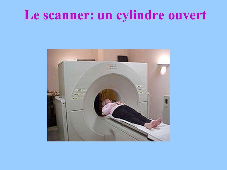 LE SCANNER (TDM) Examen non douloureux. Précision des images pulmonaires. Analyse du médiastin. Nécessite parfois une injection diode ( donne une sens