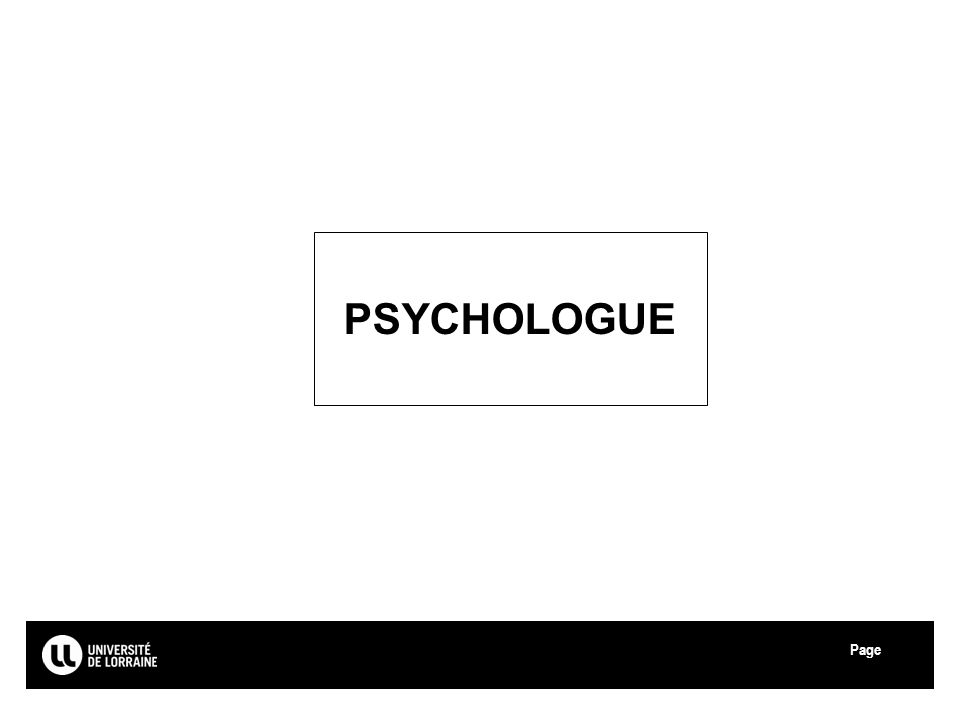 Page Université de Lorraine PSYCHOLOGUE 37