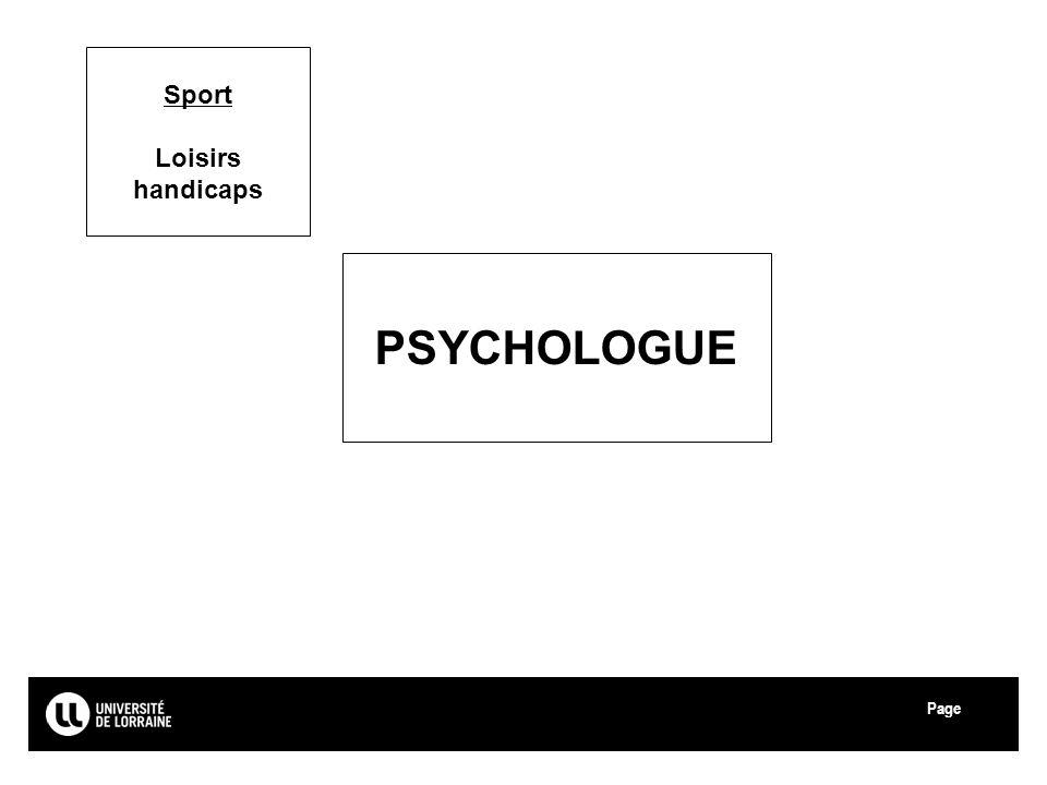 Page Université de Lorraine Sport Loisirs handicaps PSYCHOLOGUE 38